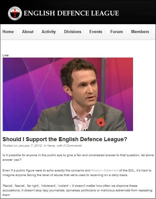 EDL Douglas Murray (3)