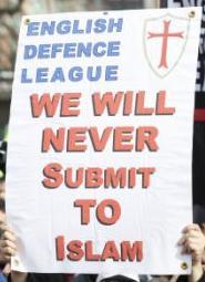 BRITAIN GEERT WILDERS PROTEST