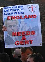 EDL Wilders poster