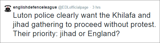 EDL complains about Section 14