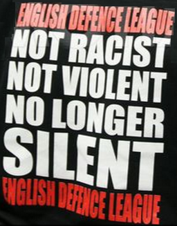 EDL not racist not violent