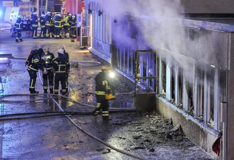 Eskilstuna mosque arson