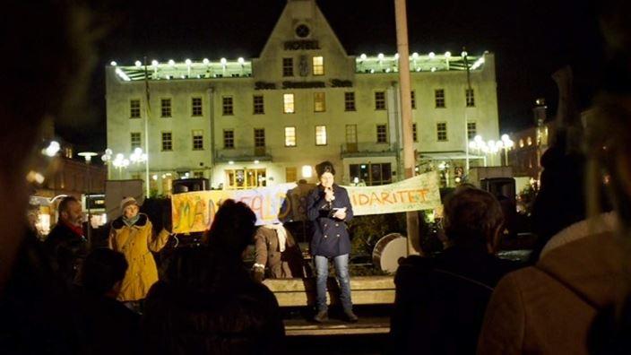 Eslöv solidarity demo