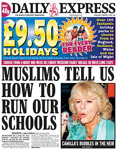 Express Muslims Tell Us How to Run Our Schools