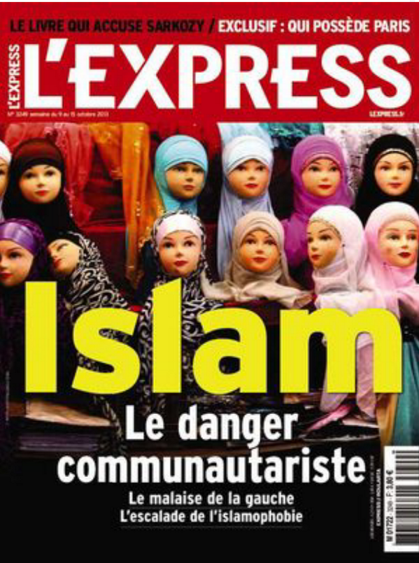 Express front cover