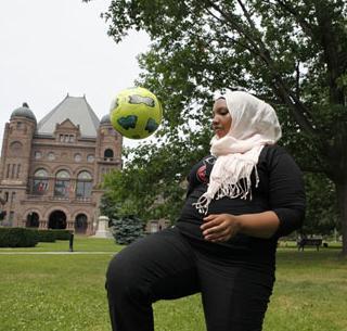 FIFA hijab protest