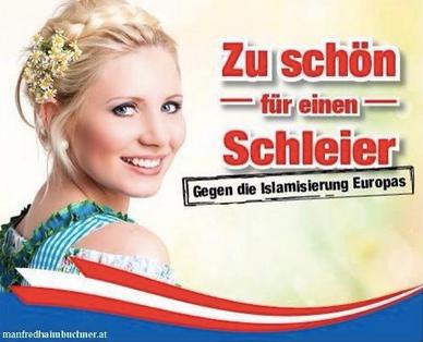 FPÖ zu schön für einen schleier