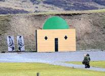 Firing range mosque