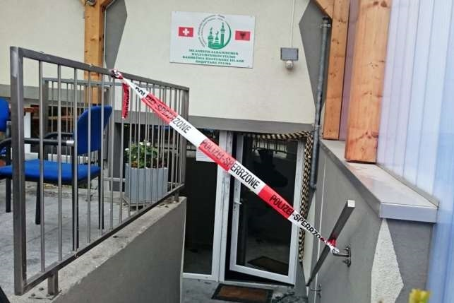 Flums Islamic centre arson (2)