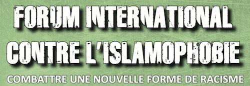 Forum international contre l'islamophobie