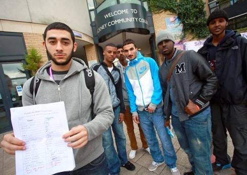 Hackney Community College protest