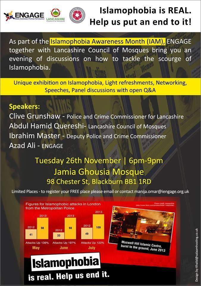 IAM event Manchester 26.11.13