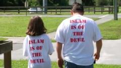 Islam is of the Devil T-shirts