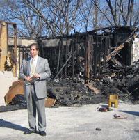 Islamic Center Columbia arson
