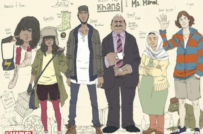 Kamala Khan Ms Marvel