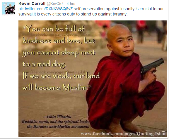 Kevin Carroll on Rohingya Muslims