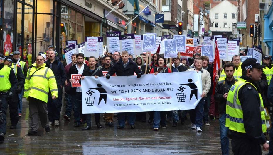 LARF anti-EAP demonstration January 2014