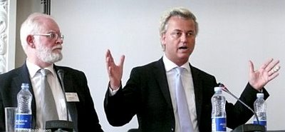 Lars Hedegaard with Geert Wilders