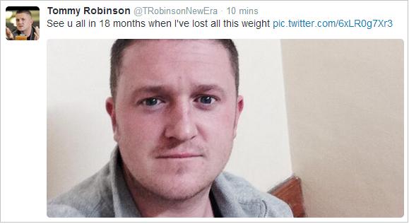 Lennon 18 month sentence tweet