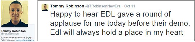 Lennon still supports EDL