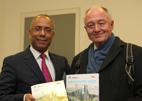 Lutfur Rahman and Ken Livingstone