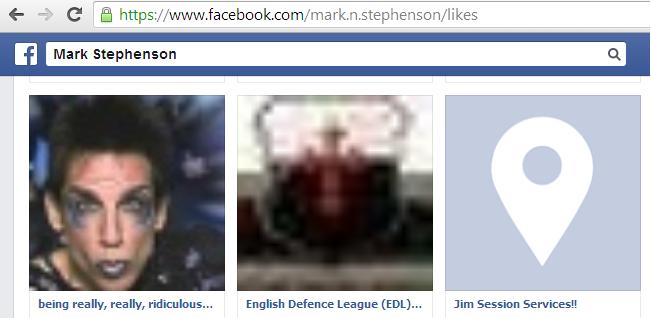 Mark Stephenson Facebook