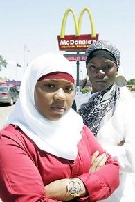 McDonald's headscarf ban