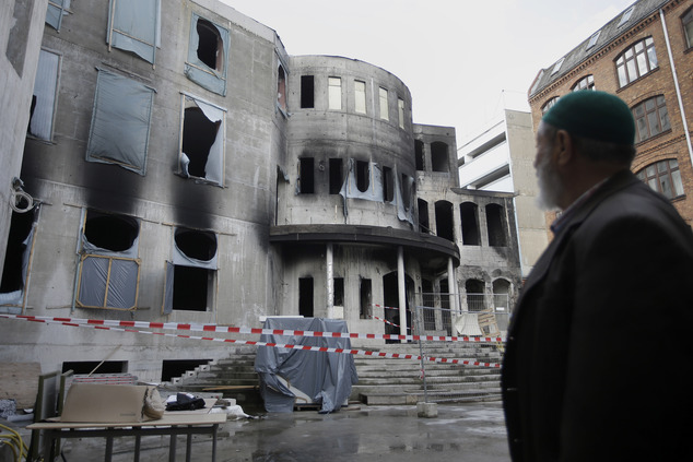 Germany Mosque Fire