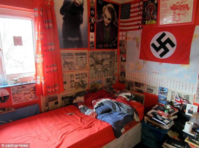 Michael Piggin bedroom