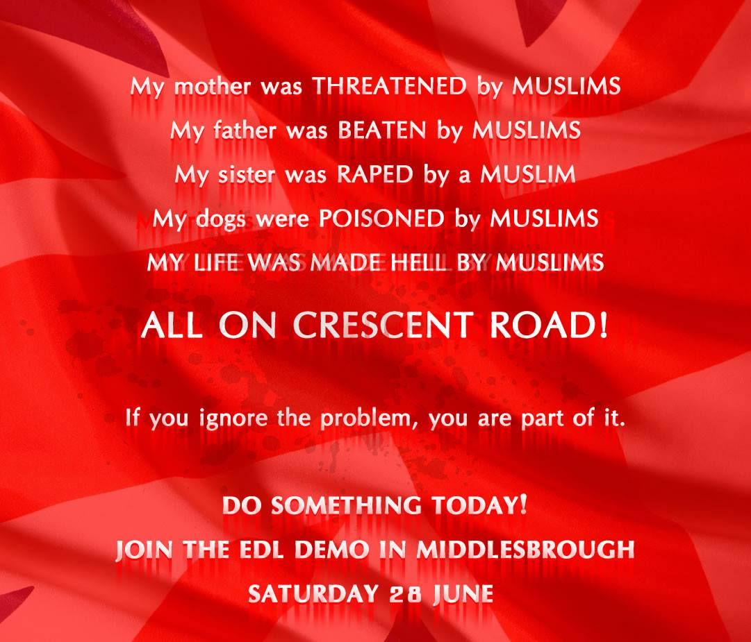 Middlesborough EDL