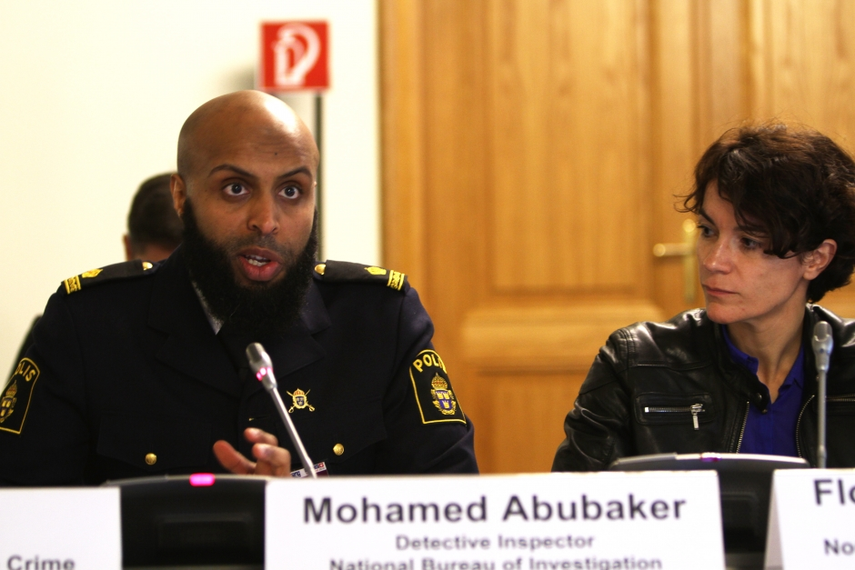 Mohamed Abubaker at OSCE hate-crime meeting