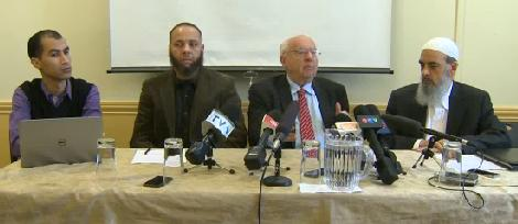 Muslim Council of Montreal press conference