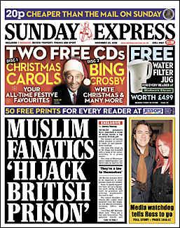 Muslim fanatics hijack British prison
