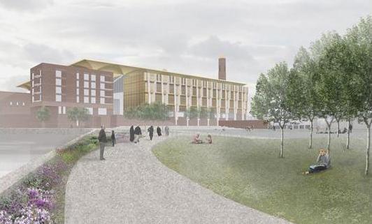 NRAP Riverine Centre design