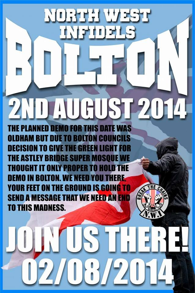 BNP links up with Infidels and NF in Bolton anti-mosque campaign ...