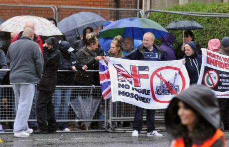 NWI protest Bolton August 2014