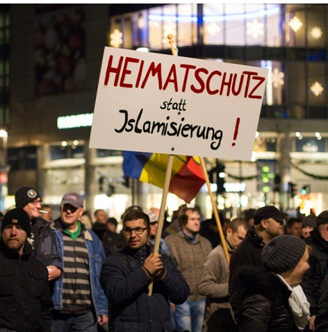 PEGIDA Heimatschutz statt Islamisierung