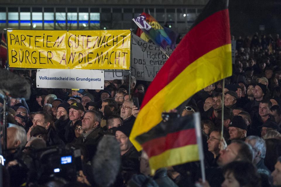 PEGIDA protest 15.12.14