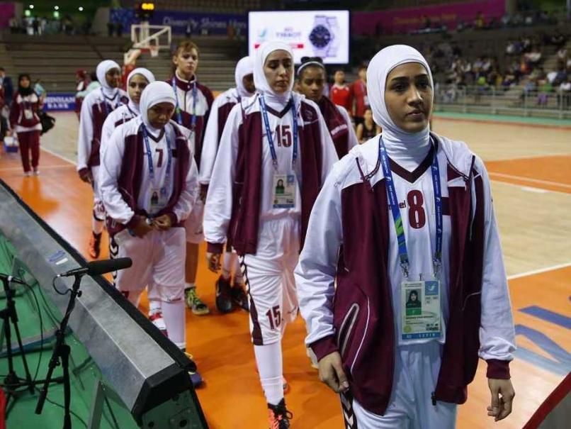 Qatar women's basketball team withdraw