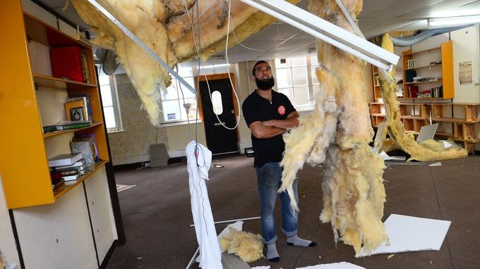 Rabbaniah Islamic Cultural Centre vandalism