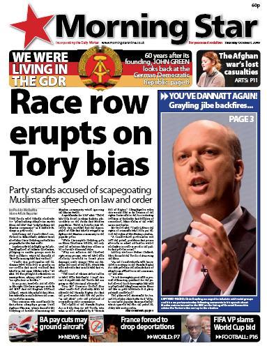 Race Hate Row Erupts