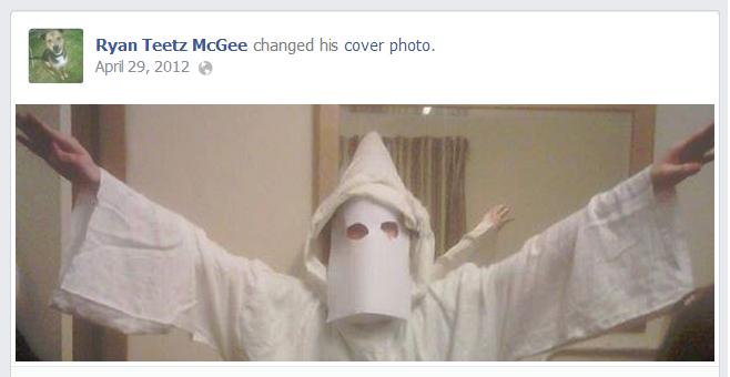 Ryan McGee KKK