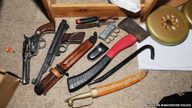 Ryan McGee guns and knives