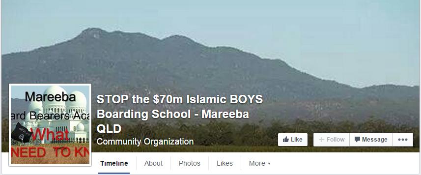 STOP the $70m Islamic BOYS Boarding School