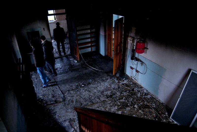 Saki mosque arson (2)