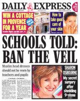 Schools Told Ban the Veil