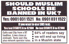 Should Muslim schools be banned