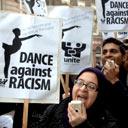 Simone Clarke protest