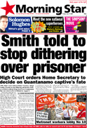 Smith told to stop dithering