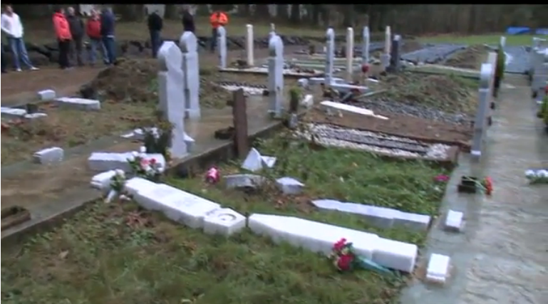 Snohomish County cemetery vandalism